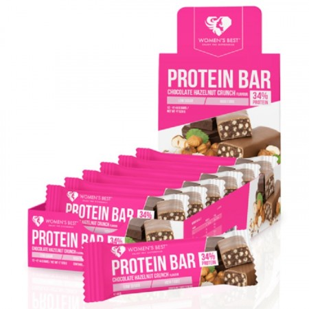 Women's Best - Protein Bar - Boks med 12 stk
